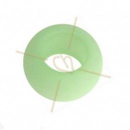 Rondelle Polaris 20mm Vert Pastel