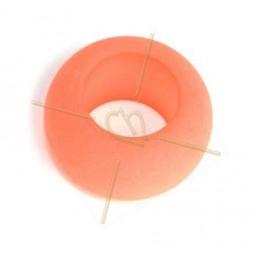 Rondelle Polaris 20mm Pastel Peach