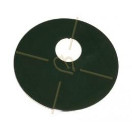 pendant metal round 40mm