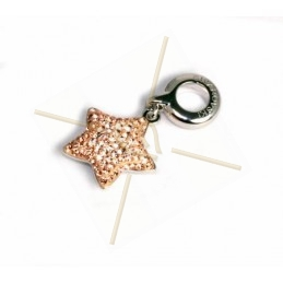 Swarovski Elementos pendiente 14mm estrella Silk