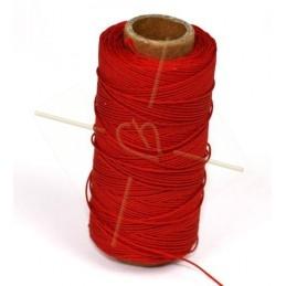 polyester koord 0.5mm rood