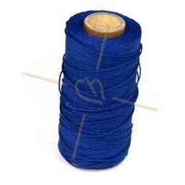 cordon polyester 0.5mm Bleu Marine