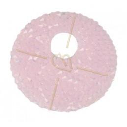 Swarovski Rocks Donut 40mm Rose Water Opal + houder