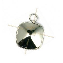 pendant for swarovski 4470 12*12mm