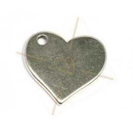 pendant 20mm heart
