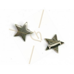 "leather spacer ""star"" for 5mm"