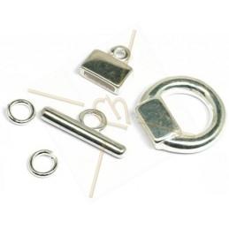 clasp T 5-parts