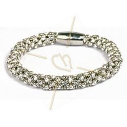 armband Feria zilver crystal
