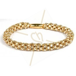 bangle Feria golden shadow gold