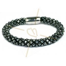 bracelet Feria jet hematite