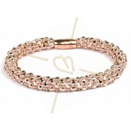 bangle Feria rose gold trou cuivre