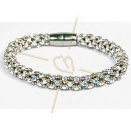 bangle Feria silver Crystal AB