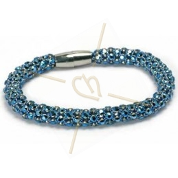 armband Feria metallic Blue