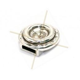 magneetslot voor leder 10mm en rivoli 12mm