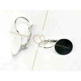 Earring disque 12mm