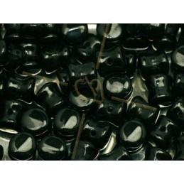 Pellet beads 4*6mm Jet