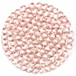 Crystal Rocks 30mm Vintage Rose