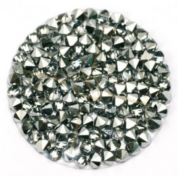 Crystal Rocks 30mm Chrome