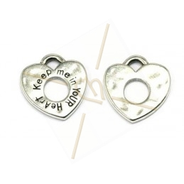 pendant 23mm heart