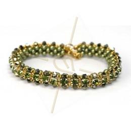 """kit du bracelet """"Nelsy"""" Vert"""