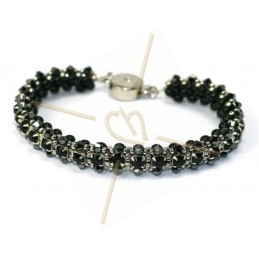 """kit du bracelet """"Nelsy"""" Noir"""