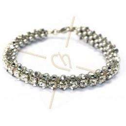 "kit du bracelet ""Nelsy"" blanc"