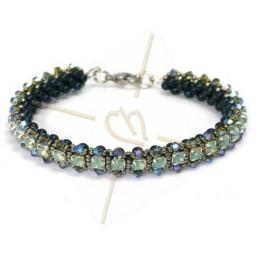 """kit du bracelet """"Nelsy"""" turquoise"""