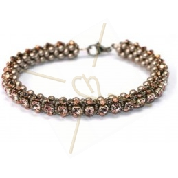 "Pack Bracelet ""Nelsy"" Rose Gold"