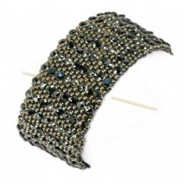 """kit du bracelet """"Almaz"""" Hematite"""