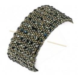 """Kit van Armband """"Almaz"""" Hematite"""