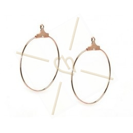 "earrings ""ronde"" 30mm"