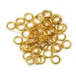 ring open 5mm gold