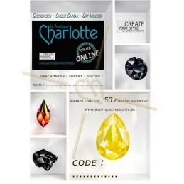 Online cadeaucheque 50 €
