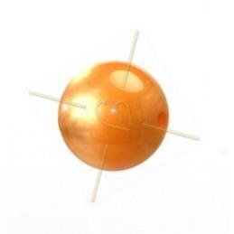 boule 14mm Super Polaris orange poudre