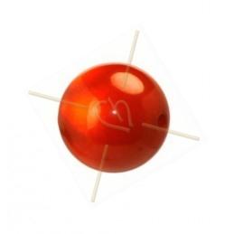 boule 14mm Super Polaris rouge poudre