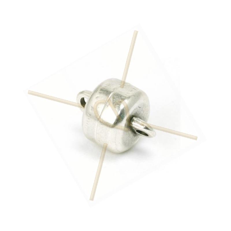 Magnétique anneau 9x6.4 trou 1.6mm