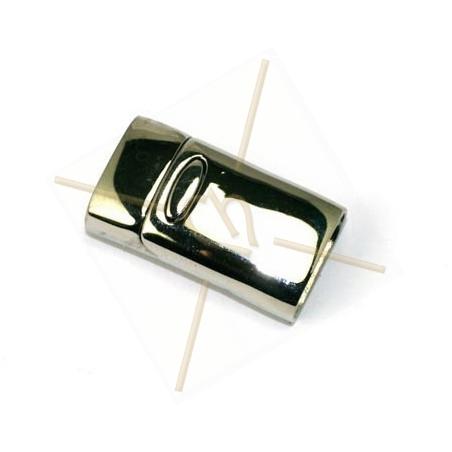 Fermoir magnetique acier pour 14mm plat