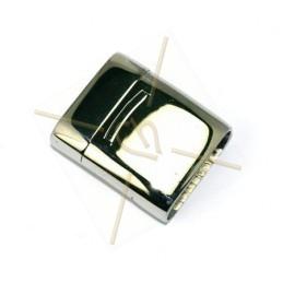 Fermoir magnetique acier pour 21*7mm plat