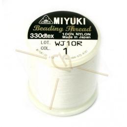 Miyuki Beading Thread White