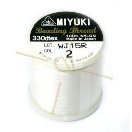Miyuki Beading Thread Cream