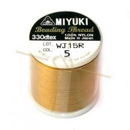 Miyuki Beading Thread gold