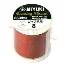 Miyuki Beading Thread Red