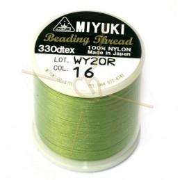 Miyuki Bead Thread Lichtgroen