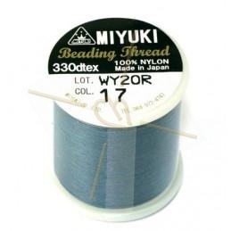 Miyuki Bead Thread Jeansblauw