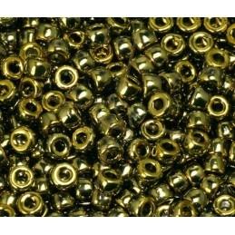 Matubo Rocaille 8/0 Combi gold/silver