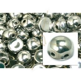 perle cabochon 2-hole 6mm Crystal Full Labrador