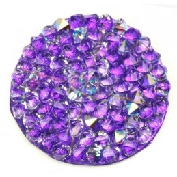 Crystal Rocks 30mm Crystal AB / Purple
