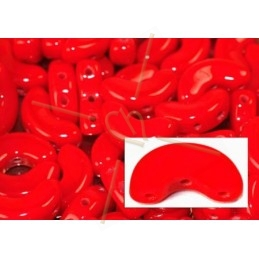 Arcos® par Puca® 5*10mm Opaque Coral Red