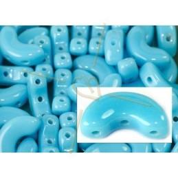 Arcos® par Puca® 5*10mm Opaque Blue Turquoise