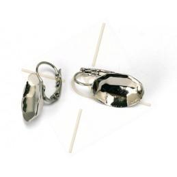 earrings for Swarovski 4120 18*13mm